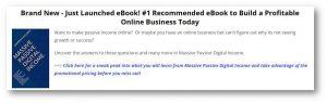 Massive Passive Digital Income eBook