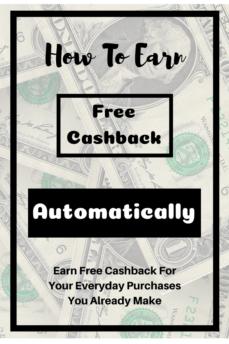 How To Earn Cash Back