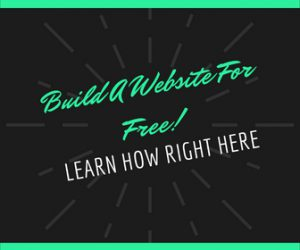 How to build a professional website for free