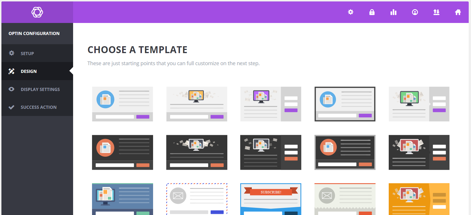 WordPress Email Optin Form Templates