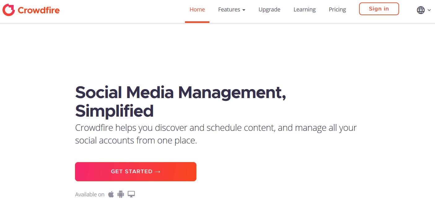 Crowdfire Social Media App Review