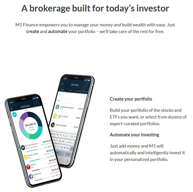 M1 Finance Investing App