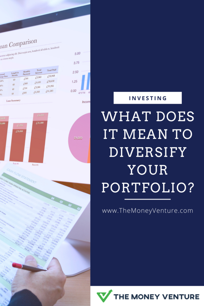 What does it mean to diversify your investment portfolio?