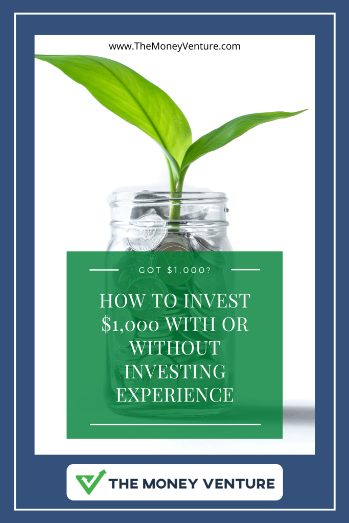 How to invest $1,000 dollars with or without prior investing experience.