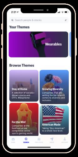 Public Investing App Themes
