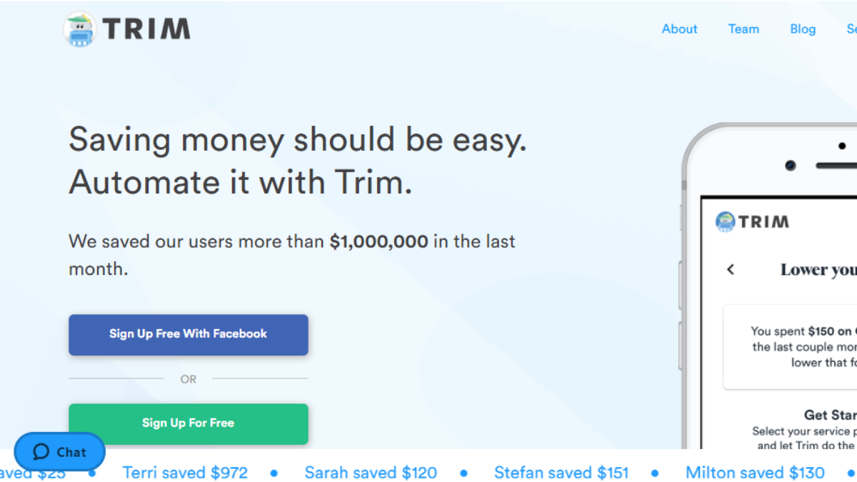 Trim Financial Manager Review