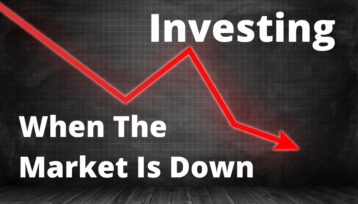 How to invest when the stock market is down.